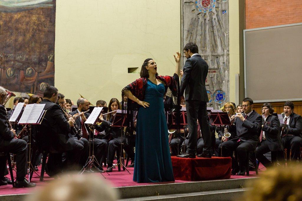 Concierto de Emkebanda con la soprano Miren Urbieta